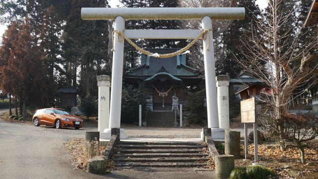 栃木県壬生町北小林の小林神社・...
